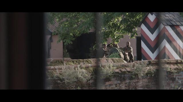 Detrás de la Línea Escape de Dunkirk 720p latino