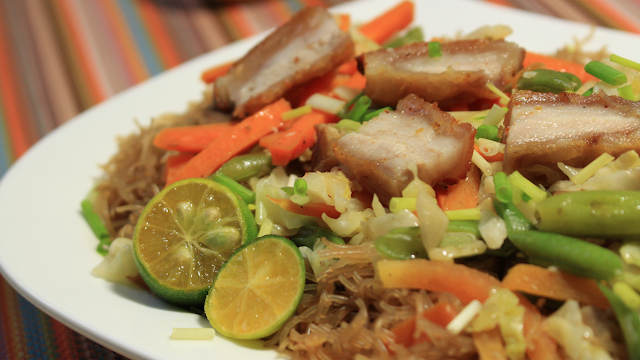 How to cook Filipino Pancit Bihon? This is how I cook this and  you can also watch how it is cooked.