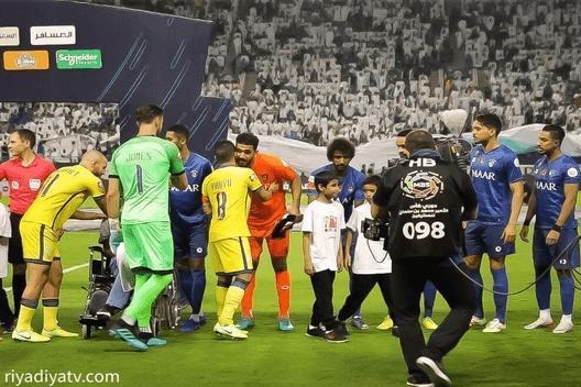 مباراة النصر والهلال