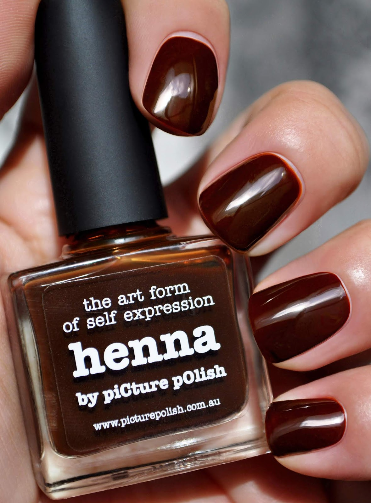 So Lonely in Gorgeous: Henna & Her Lacquers...Picture Polish Henna