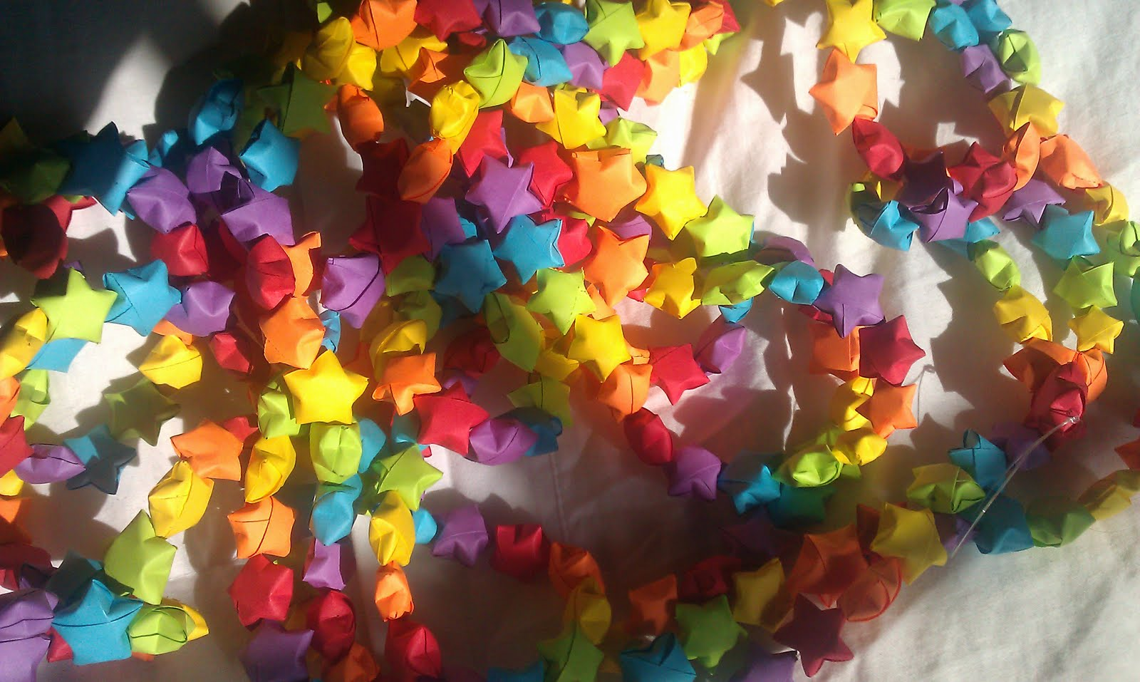 Things To Remember: Chinese Lucky Stars Rainbow Christmas