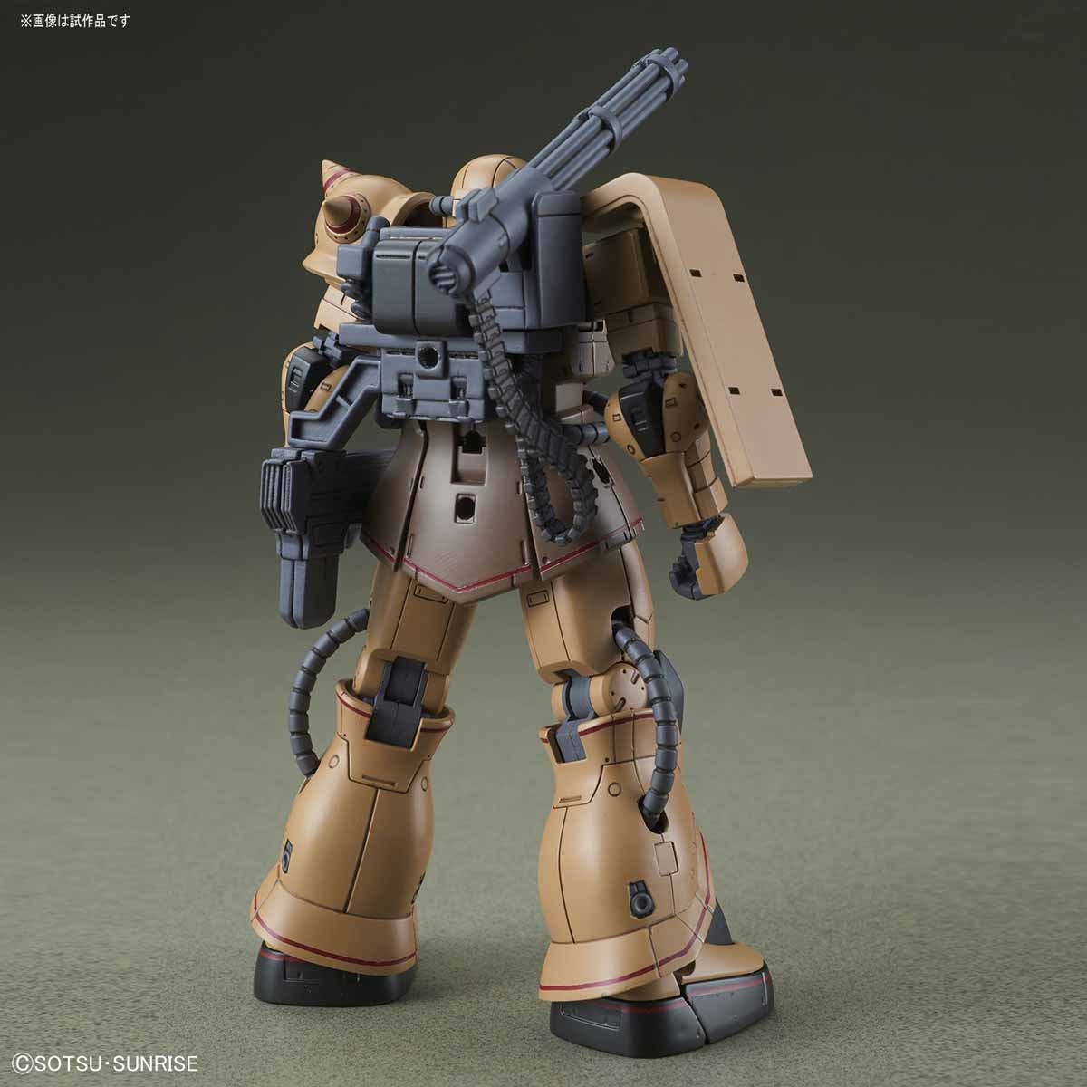 HG 1/144 MS-06CK Zaku Half Cannon [Gundam THE ORIGIN MSD]