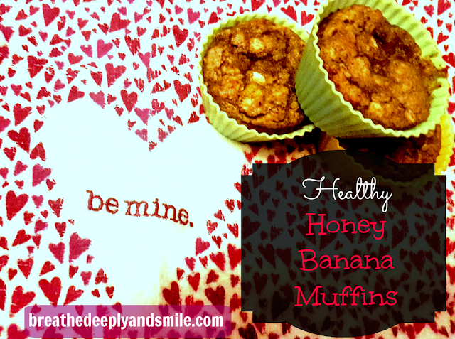 Healthy Honey Banana Muffins {with Nektar Naturals}