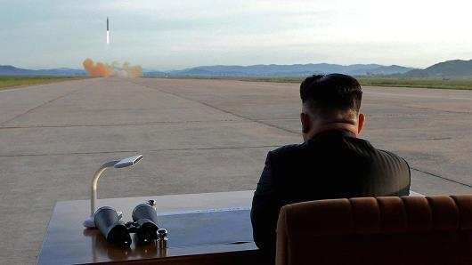 Misil de Corea del Norte cayó en una de sus ciudades