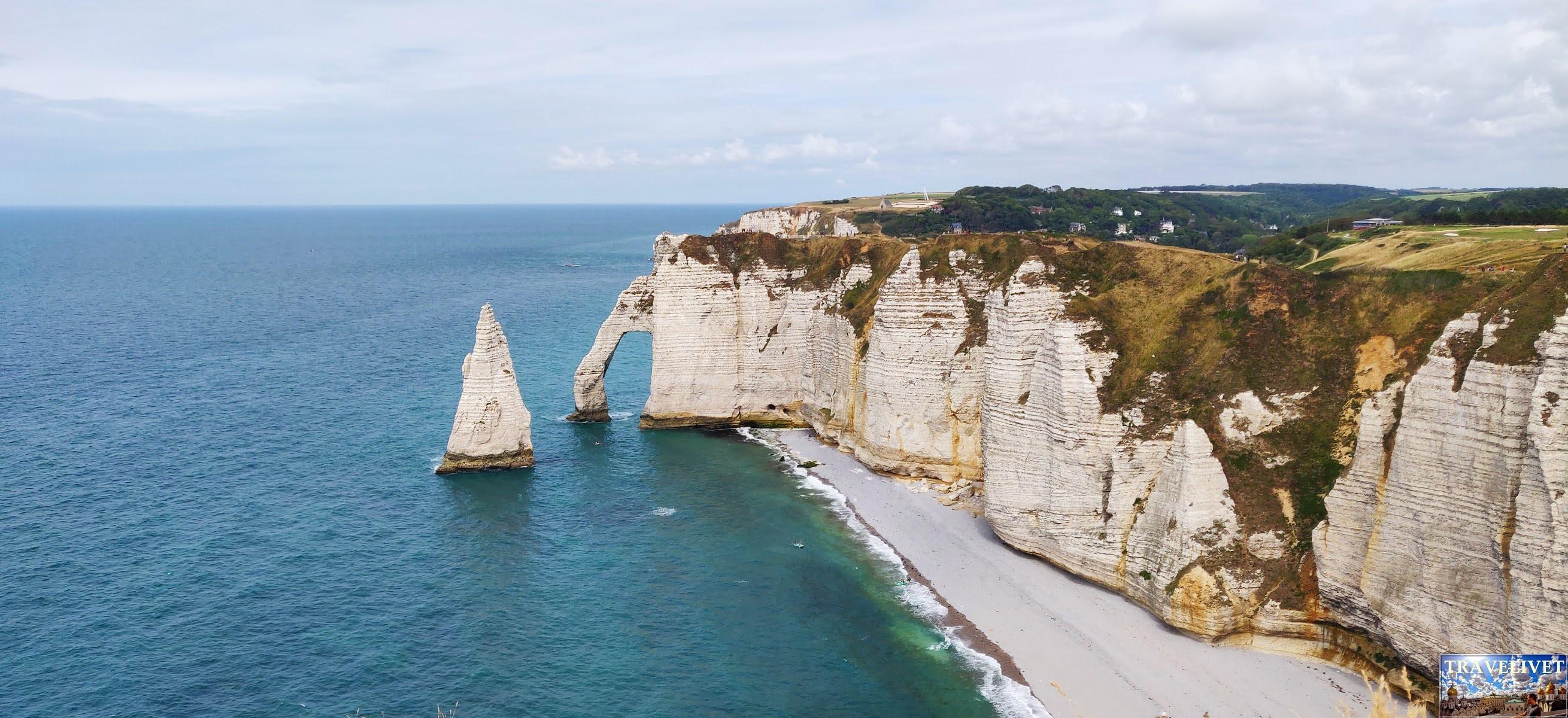 France 2020 les falaises Etretat