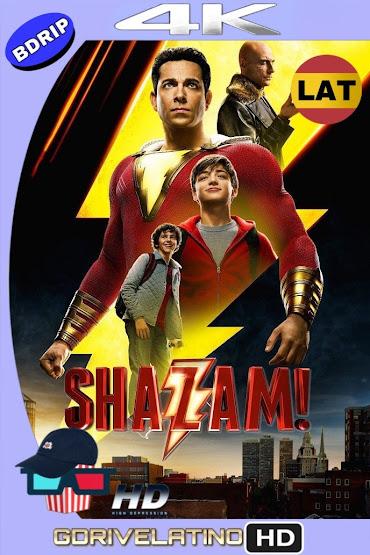 ¡Shazam! (2019) BDRip 4K HDR Latino-Ingles MKV
