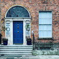 Dublin Images: blue Georgian Door