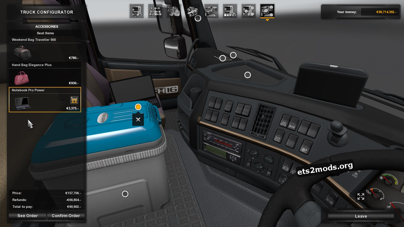 Volvo NH12 Truck