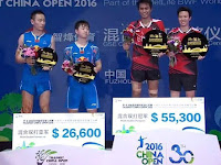(China Open 2016) Indonesia Bawa Dua, China Tanpa Gelar
