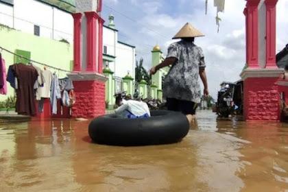 Banjir di Pati makin meluas,43 desa tergenang