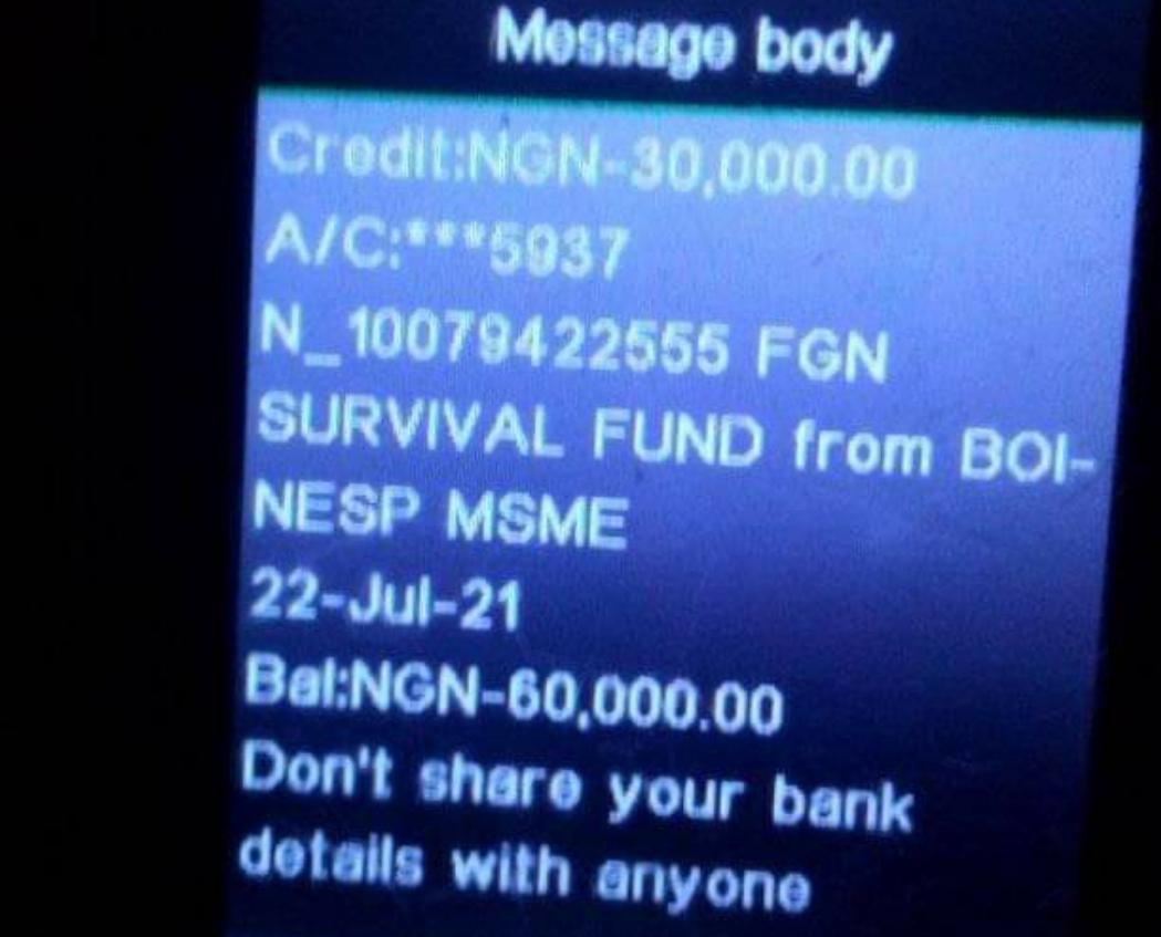 Tallafin Survival Funds: Anci Gaba Da Turawa Mutane Kudi Ayau