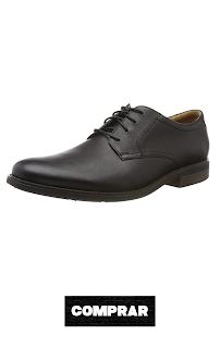 Zapatos de Cordones Brogue para Hombre color negro  Clarks Becken Lace