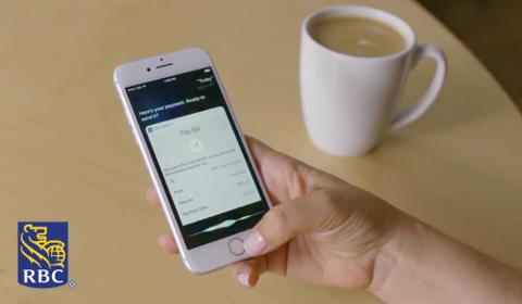 Paiement de facture avec Siri