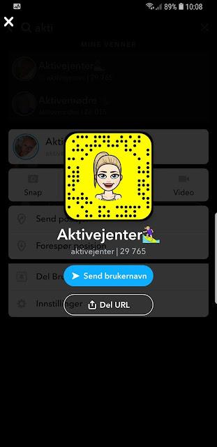 Snapchat norske brukernavn jenter Norske kvinner:
