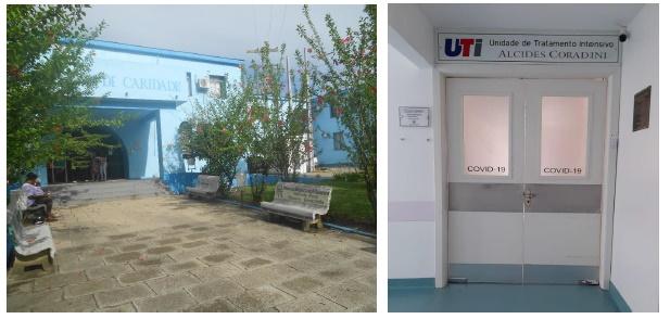 Dois pacientes de outras cidades, que estavam internados na UTI local, faleceram por complicações do Covid-19 nas últimas horas