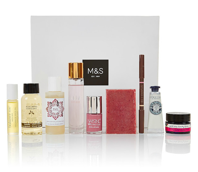Free Beauty Box with Marks and Spencer