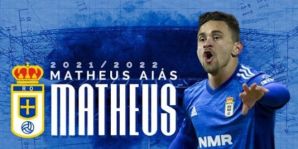Oficial: El Oviedo firma cedido a Matheus Aiás