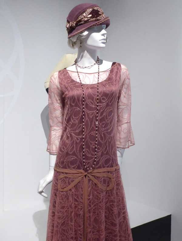 Lily James Downton Abbey Lady Rose dress