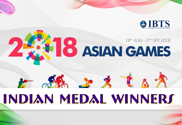 Asian Games 2018:  Complete List of Indian Medal Winners