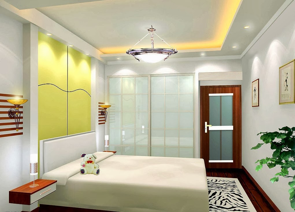 Ceiling design ideas for small bedrooms 10 designs for Bedroom designs for small rooms