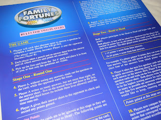 Family Fortunes rules