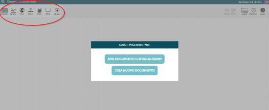 Codap-Creare grafici e tabelle