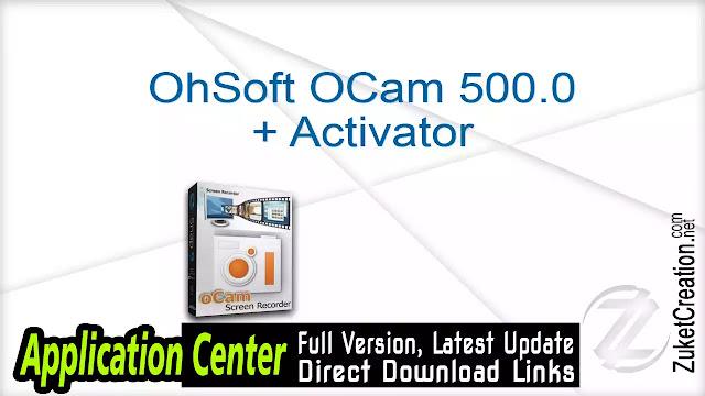 OhSoft OCam 500.0 + Activator