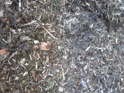 wood chip composting