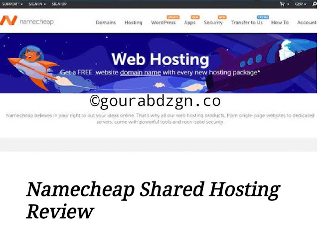 namecheap shared hosting review and plans 2020