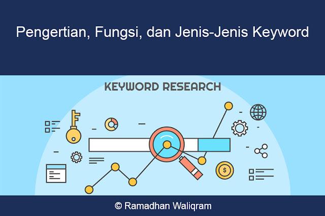 pengertian keyword, jenis jenis keyword, jenis-jenis keyword, fungsi keyword, apa itu keyword,