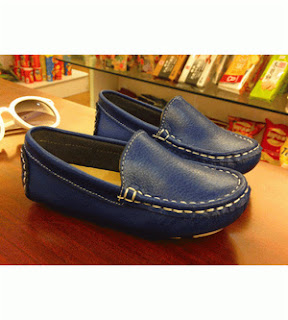 Manmade Loafer Shoes - Blue