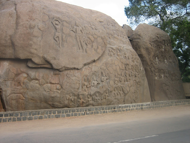 Unfinished Bas Relief - UNESCO World Heritage Site - Mahabalipuram India - Pick, Pack, Go
