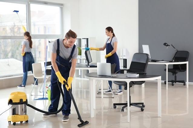 why hire commercial cleaning company