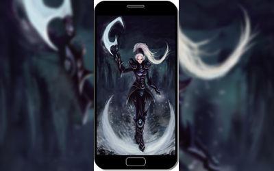 Diana League of Legends - Fond d'Écran en QHD pour Mobile