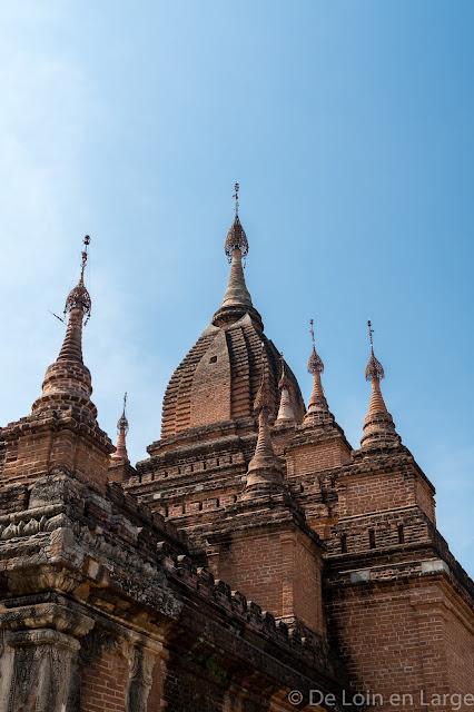 Monastère de Shwe-Man-Yin Taw - Bagan - Myanmar - Birmanie