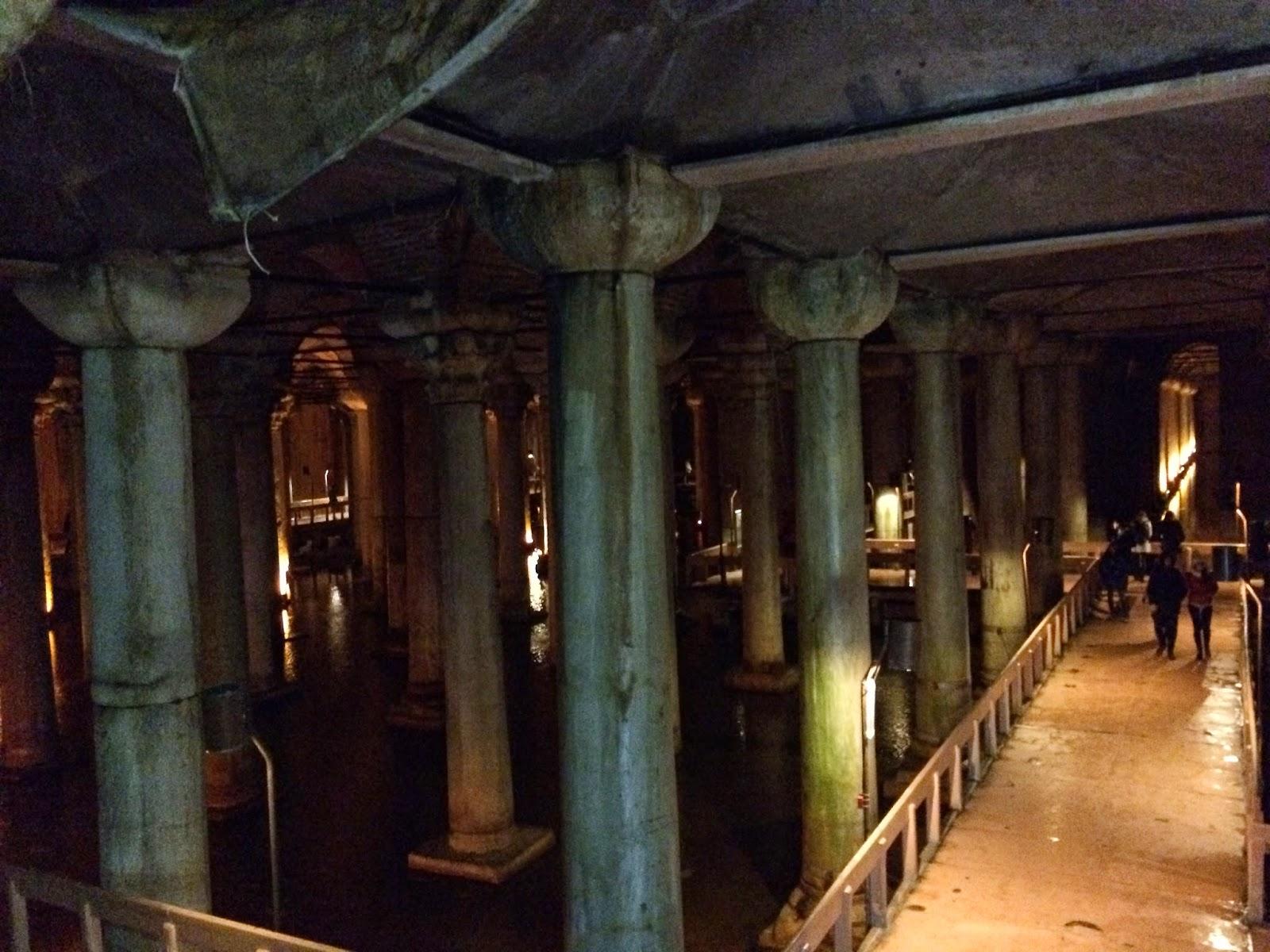 James Bond Locations The Basilica cistern  Bond and