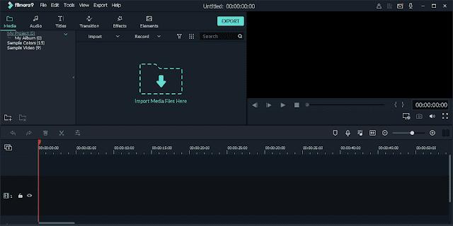 Screenshot Wondershare Filmora 9.2.7.11 (x64) Full Version