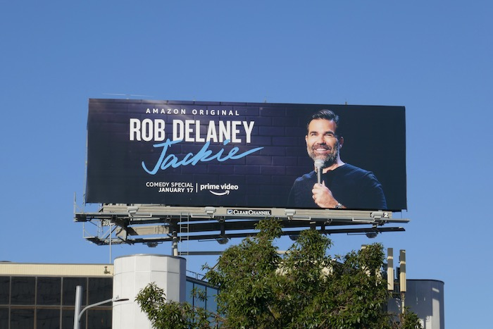 Rob Delaney Jackie billboard