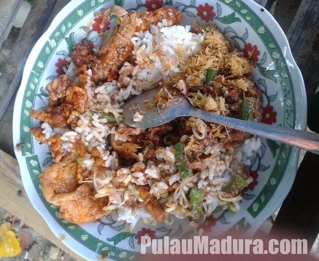 Kuliner Khas Kabupaten Sampang Nasi Kobel Madura - Jawa Timur