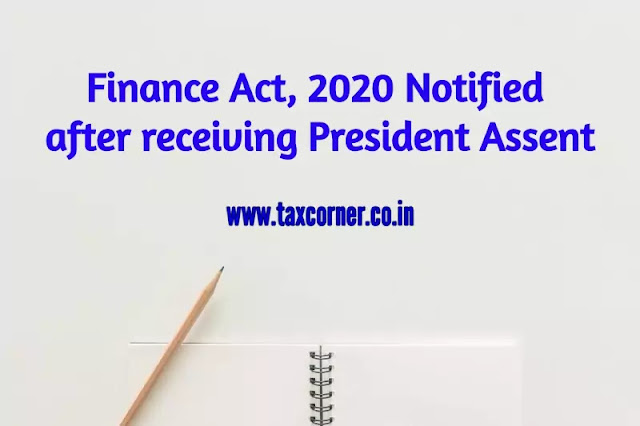 finance-act-2020-notified-after-receiving-president-assent