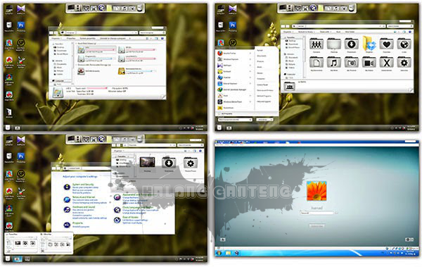 Frost Skin Pack for Windows 7 Screenshot
