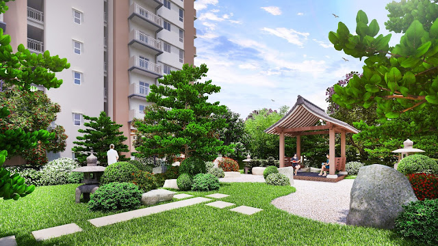Japanese-inspired condominium