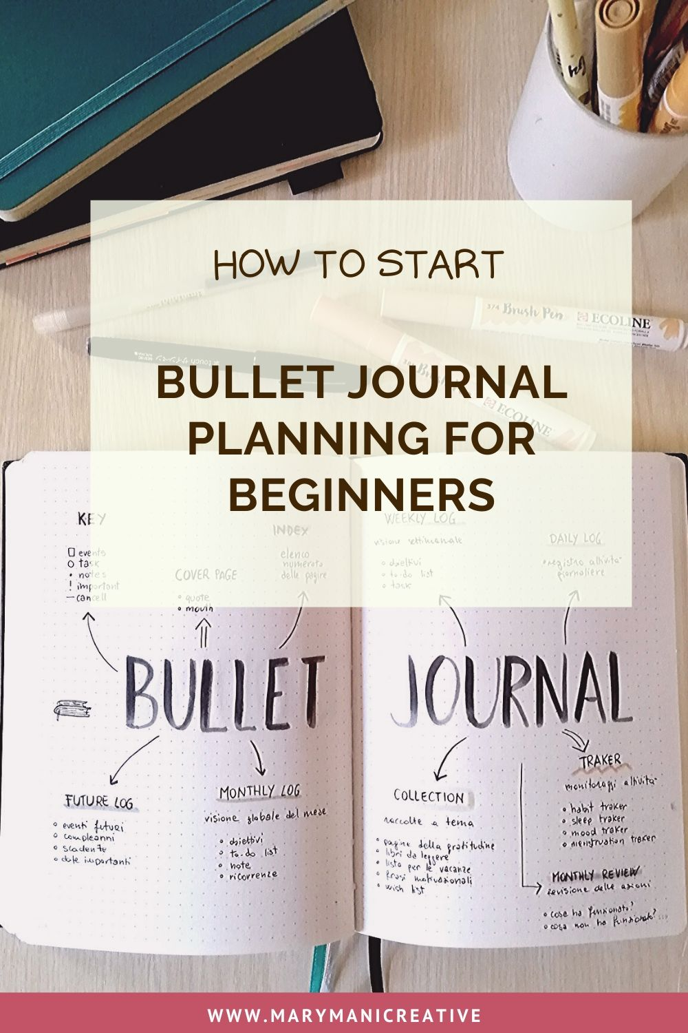 how-to-start-bullet-journal-for-beginners