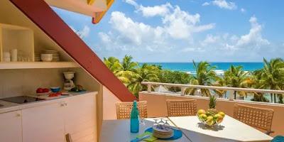 Appartement avec vue sur la mer Pierre et Vacances Guadeloupe