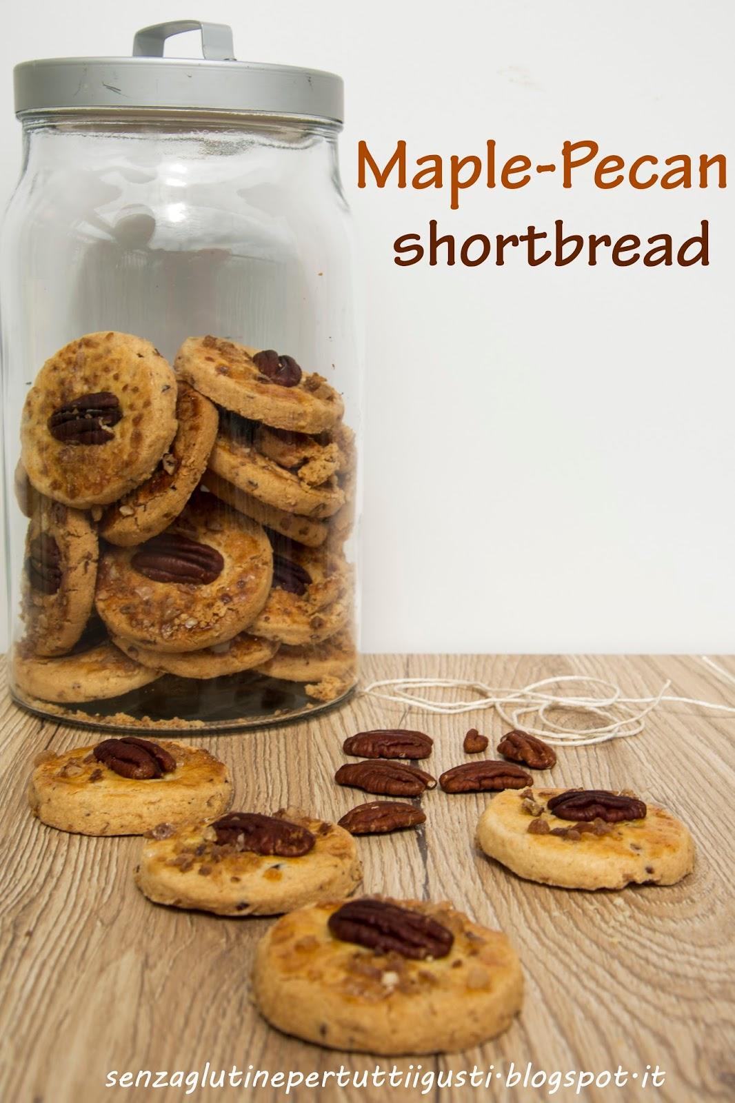 Maple-pecan shortbread di Martha Stewart senza glutine   Ricetta ed ...