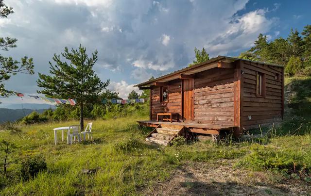 Cabaña de madera en Cataluña