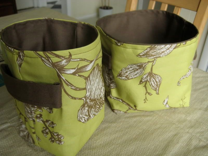 Fabric Basket Free Sewing Tutorial