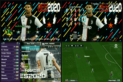 PES 2020 PPSSPP Ultimate Eropa & Shopee
