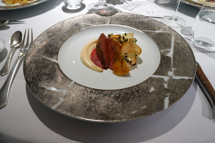 Euriental | dinner at the Fat Duck, Bray, by Heston Blumenthal. Anjou pigeon.