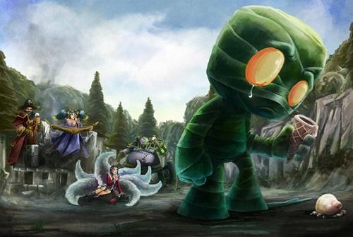 Vị tướng Amumu trong vòng Liên minh huyền thoại có bộ khả năng dễ chơi nhưng kết quả